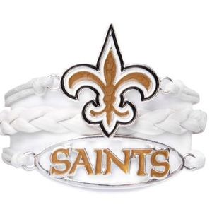 Ashley Bridget NFL New Orleans Saints Bracelet NEW